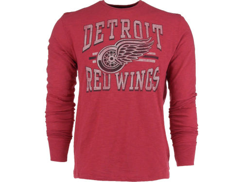 Detroit Red Wings '47 Brand NHL Logo Scrum Long Sleeve T-Shirt