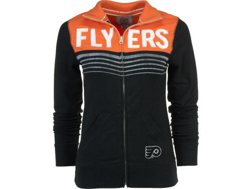 Philadelphia Flyers '47 Brand NHL Womens Playoff Track Jacket