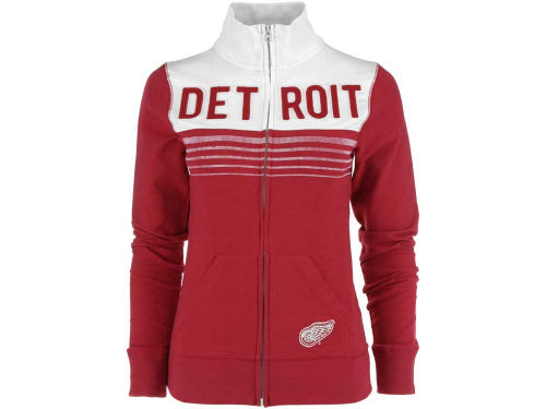 Detroit Red Wings '47 Brand NHL Womens Playoff Track Jacket