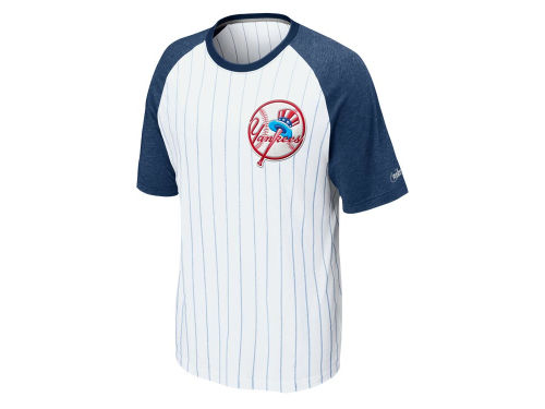 New York Yankees Nike MLB CP Dugout Raglan T-Shirt