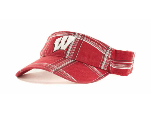 Wisconsin Badgers '47 Brand NCAA Collision S Visor Hats