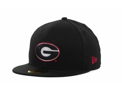 Georgia Bulldogs NCAA AC Stock 59FIFTY Hats
