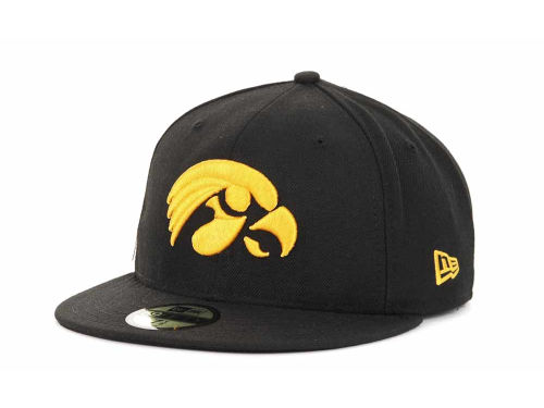 Iowa Hawkeyes New Era NCAA AC Stock 59FIFTY Hats