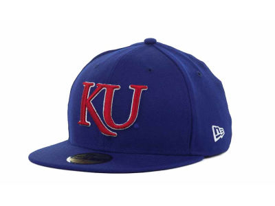 Kansas Jayhawks NCAA AC Stock 59FIFTY Hats