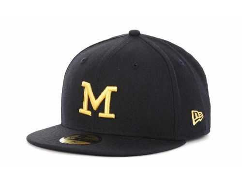 Michigan Wolverines New Era NCAA AC Stock 59FIFTY Hats