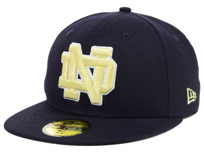 Notre Dame Fighting Irish NCAA AC Stock 59FIFTY Cap Hats