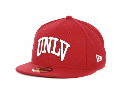 UNLV Runnin Rebels NCAA AC Stock 59FIFTY Hats