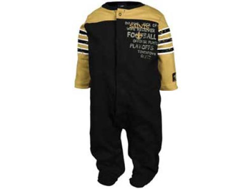 New Orleans Saints NFL Newborn Sleep and Play