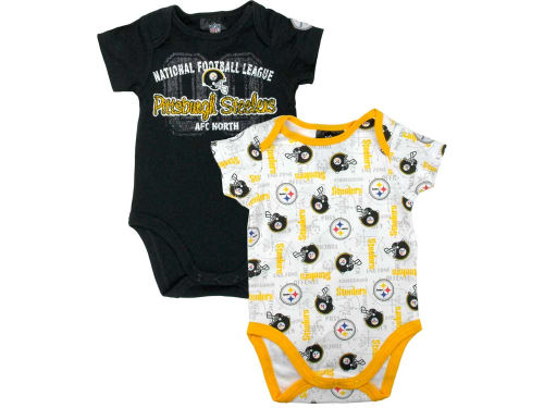 Pittsburgh Steelers NFL Newborn Bodysuit Set
