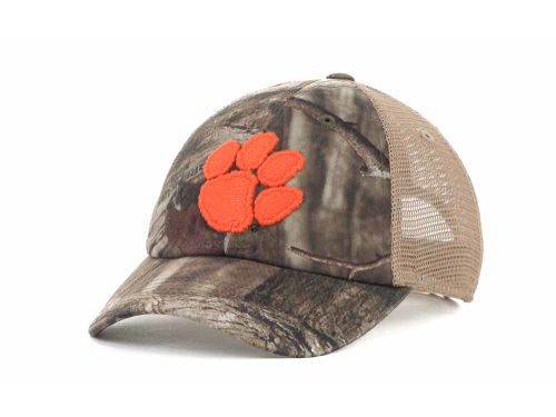 Clemson Tigers Top of the World NCAA Bounty Camo Meshback Cap Hats