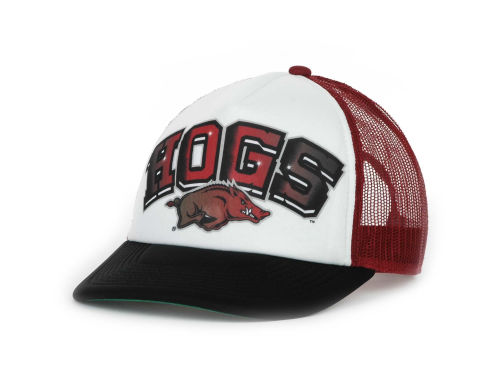 Arkansas Razorbacks Top of the World NCAA In The Paint Cap Hats