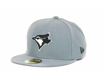 Toronto Blue Jays MLB Youth Gray Black and White 59FIFTY Hats