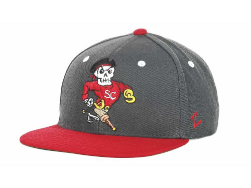 San Cristobal College Pirates Zephyr NCAA X-Snap Cap Hats