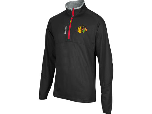 Chicago Blackhawks NHL Center Ice Baselayer 1/4 Zip Jacket