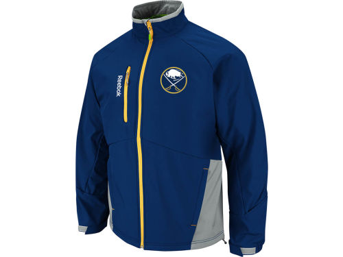 Buffalo Sabres Reebok NHL Center Ice Mentor Softshell Jacket