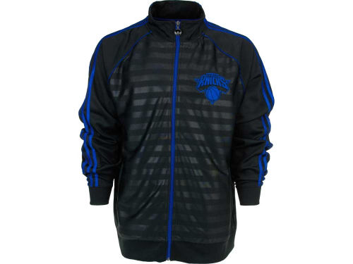 New York Knicks adidas NBA Groove Track Jacket