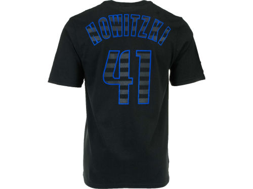 Dallas Mavericks Dirk Nowitzki adidas NBA Groove Player T-Shirt