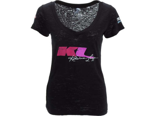 Katherine Legge Racing Womens Player Name and Number Vneck T-Shirt