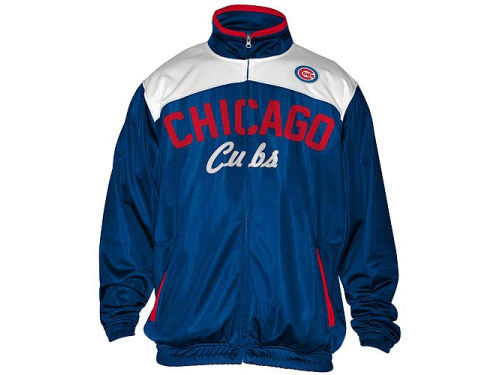 Chicago Cubs GIII MLB MVP Track Jacket