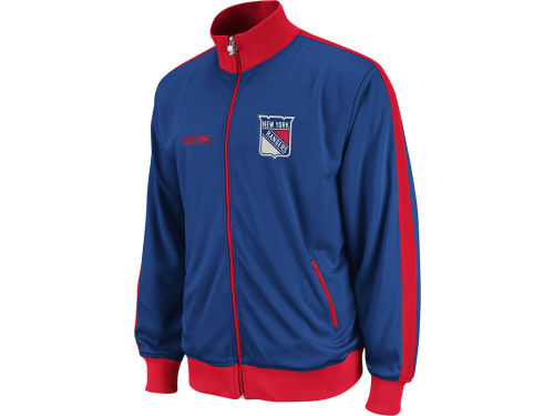 New York Rangers NHL Lord Stanley Track Jacket