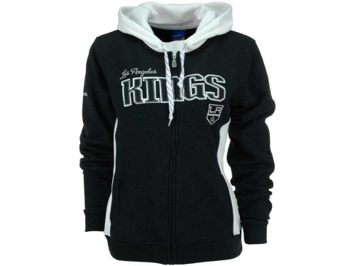 Los Angeles Kings Reebok NHL Womens Core Full Zip Hoodie