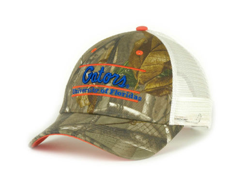 Florida Gators Camo Mesh Bar Hats