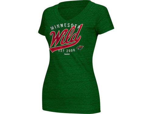 Minnesota Wild NHL Womens Inspired T-Shirt