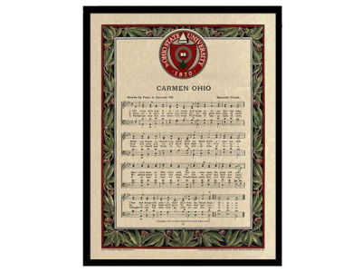 Carmen Ohio Framed Print