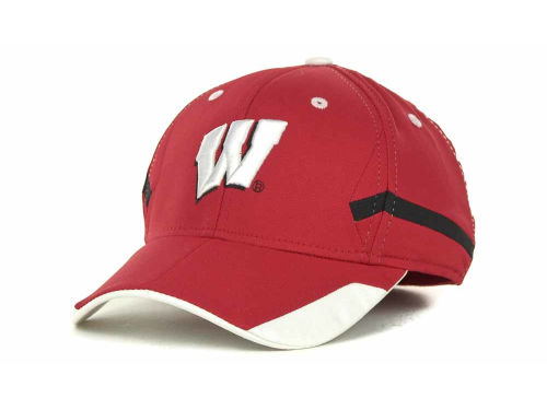 Wisconsin Badgers Adidas Child Tip Flex Cap Hats