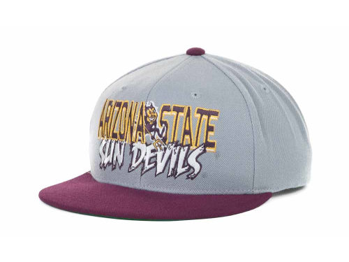 Arizona State Sun Devils Top of the World NCAA Quake Snapback Cap Hats