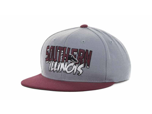 Southern Illinois Salukis Top of the World NCAA Quake Snapback Cap Hats