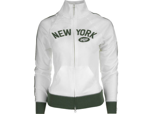 New York Jets '47 Brand NFL Womens Tennis Stretch Track Jacket