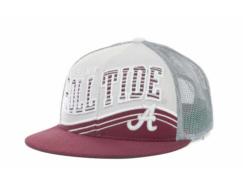 Alabama Crimson Tide Top of the World NCAA Electric Slide Mesh Back Snapback Cap Hats