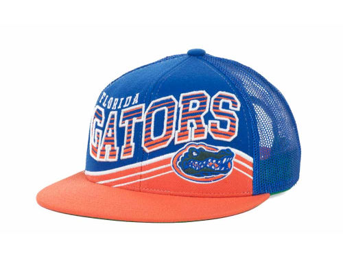 Florida Gators Top of the World NCAA Electric Slide Mesh Back Snapback Cap Hats