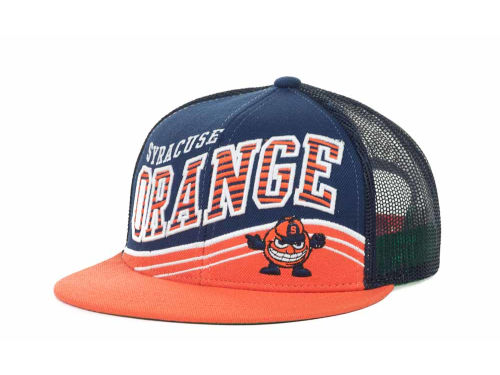 Syracuse Orange Top of the World NCAA Electric Slide Mesh Back Snapback Cap Hats