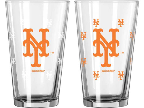 New York Mets Boelter Brands 16oz Color Changing Pint Glass