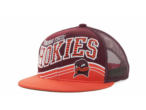 Virginia Tech Hokies Top of the World NCAA Electric Slide Mesh Back Snapback Cap Hats