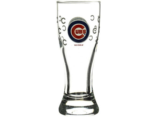Chicago Cubs Boelter Brands Satin Etch Mini Pilsner
