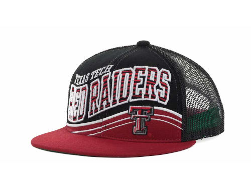 Texas Tech Red Raiders Top of the World NCAA Electric Slide Mesh Back Snapback Cap Hats