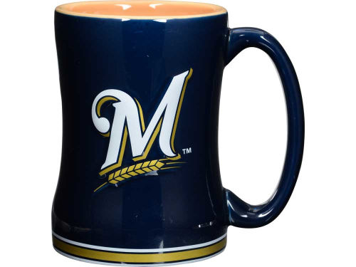 Milwaukee Brewers 15oz Relief Mug