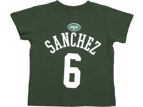 New York Jets Mark Sanchez Outerstuff NFL Toddler Primary Gear Flat T-Shirt