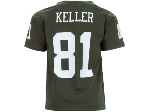 New York Jets Dustin Keller Outerstuff NFL Kids Fashion Performance T-Shirt