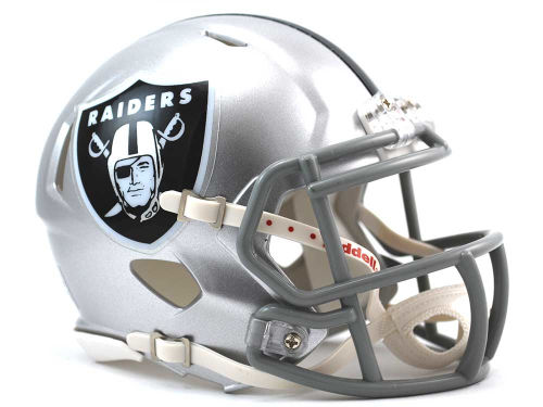 Oakland Raiders Riddell Speed Mini Helmet