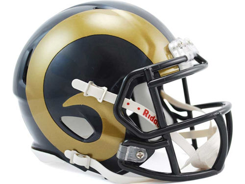 St. Louis Rams Riddell Speed Mini Helmet