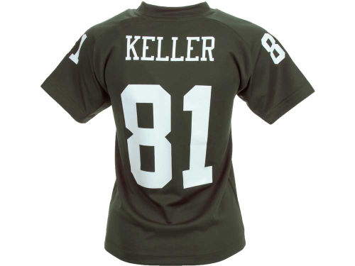 New York Jets Dustin Keller Outerstuff NFL Youth Fashion Performance T-Shirt
