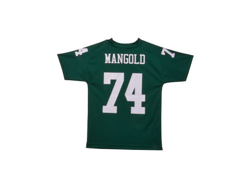 New York Jets Nick Mangold Outerstuff NFL Youth Fashion Performance T-Shirt