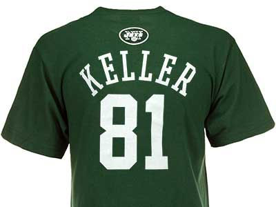 Outerstuff Dustin Keller NFL Youth Primary Gear Flat T-Shirt