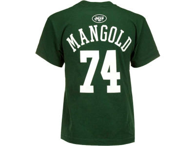 Outerstuff Nick Mangold NFL Youth Primary Gear Flat T-Shirt