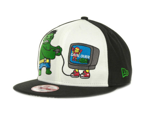 Tokidoki Game Over Hulk Snapback 9FIFTY Cap Hats
