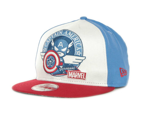 Tokidoki Captain Hero Snapback Cap Hats